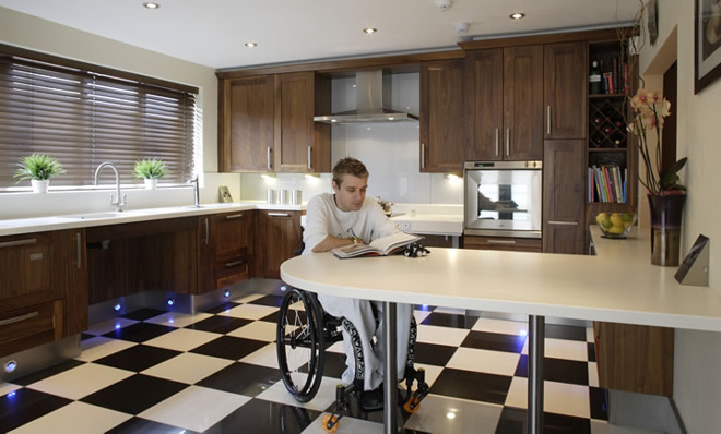 Accessibility and convenience tacoma plumber and construction contractors Kitchen design for elderly